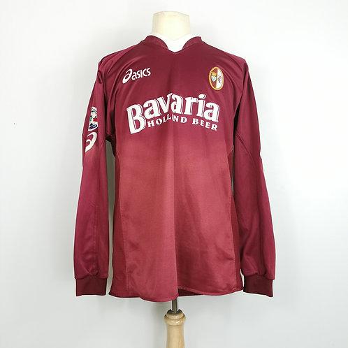 Torino 2004-05 Match Issue L/S Home - Size XL - Giacchetta 23
