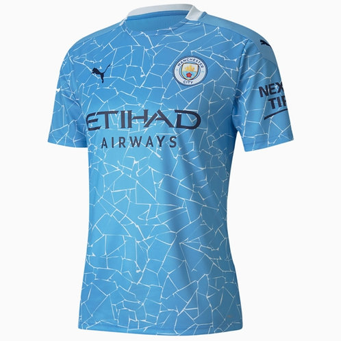 Manchester City 2020-21 Home - Size L - BNWT