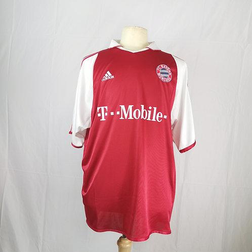 Bayern Munich 2004-05 Home - Size XL - Makaay 10