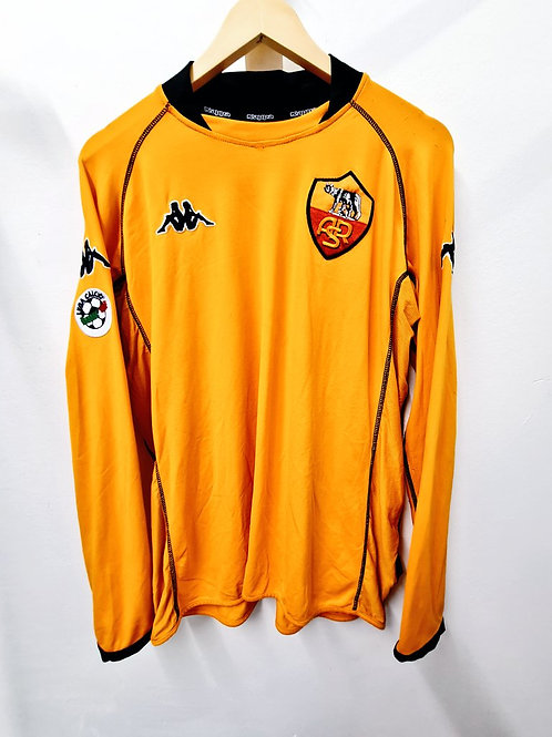AS Roma 2002-03 Coppa Italia - Size XXL - Aldair 6