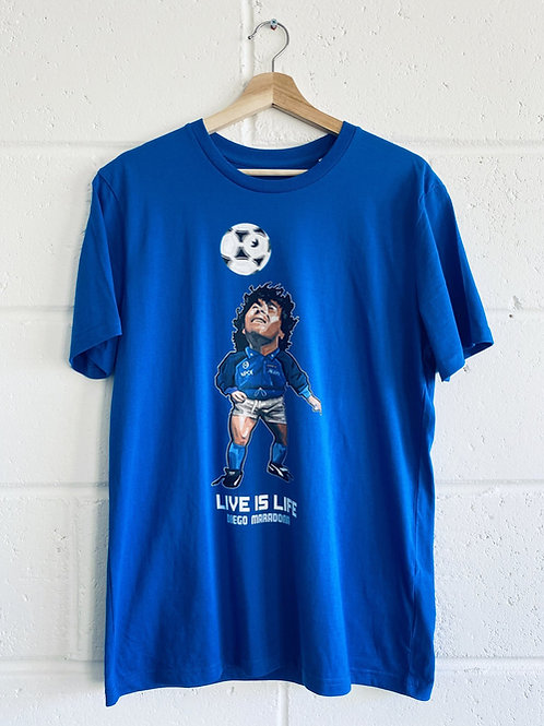 AC Art Diego Maradona Napoli Tee - 2 Colours/Limited Sizes