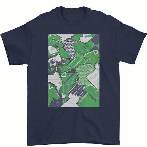 Northern Ireland Shirts Tee - Navy