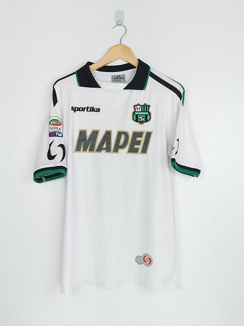 Sassuolo 2014-15 Match Issue Away - Size L - Lazarević 30