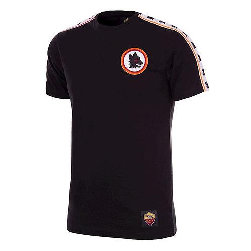 AS Roma Copa Black T-Shirt - Multiple Sizes