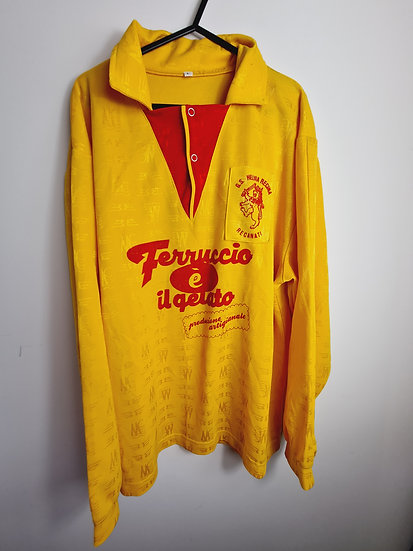 GS Helvia Recanati 80's Matchworn Shirt - Size L - Number 3