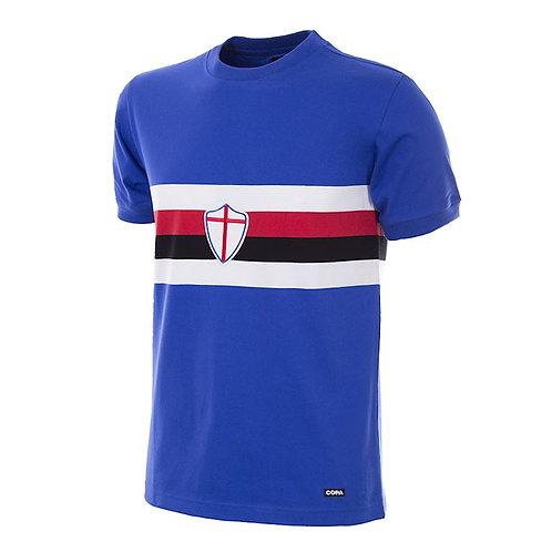 U. C. Sampdoria 1975 - 76 Retro Football Shirt - Size S