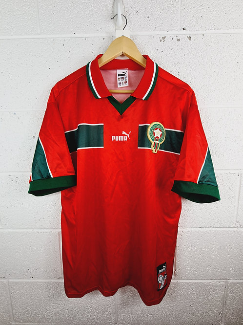 Morocco 1998-99 Home - Size XL