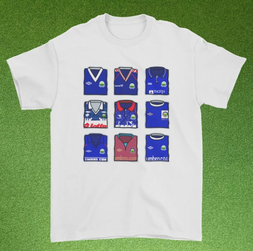 Linfield Kit Collage Tee