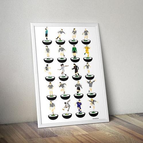 Juventus A3 Print