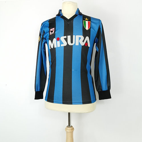 Inter Milan 1989-90 L/S Home - Size S