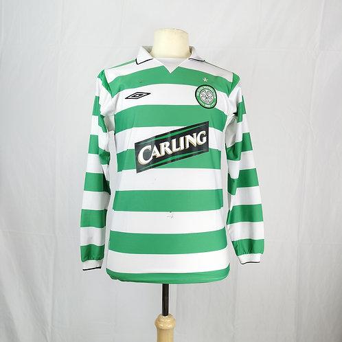Celtic 2004-05 L/S Home - Size S