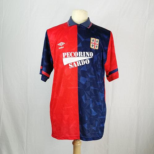 Cagliari 1992-93 Home - Size M - #9