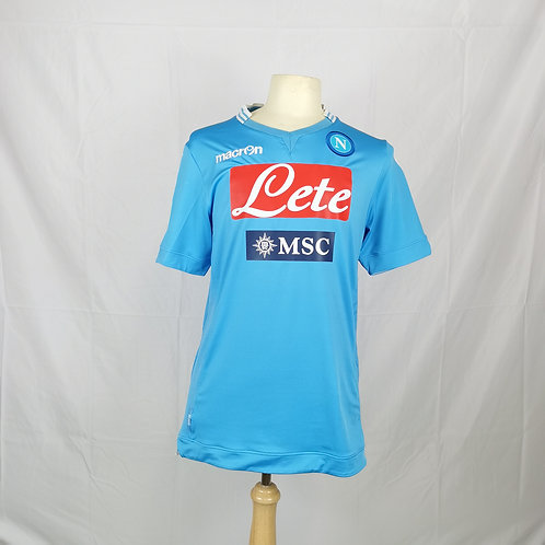 Napoli 2013-14 Home - Size XXL - Ghoulam 31
