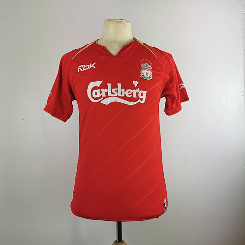 Liverpool 2005-06 CL Home - Size S
