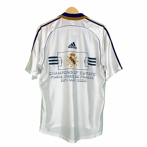 Real Madrid 1998-00 European Champions Home - Size M
