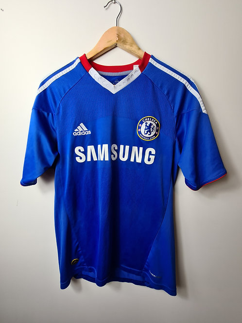 Chelsea 2010-11 Home - Size S - David Luiz 4