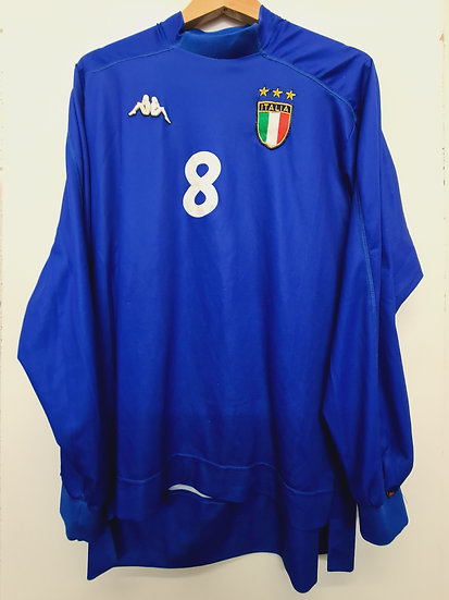Italy 1998-00 Player Issue Home - Size L - Number 8