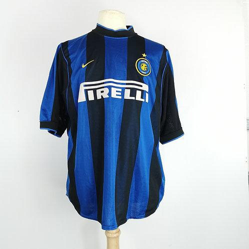 Inter Milan 1999-00 Home - Size XL - Vieri 32
