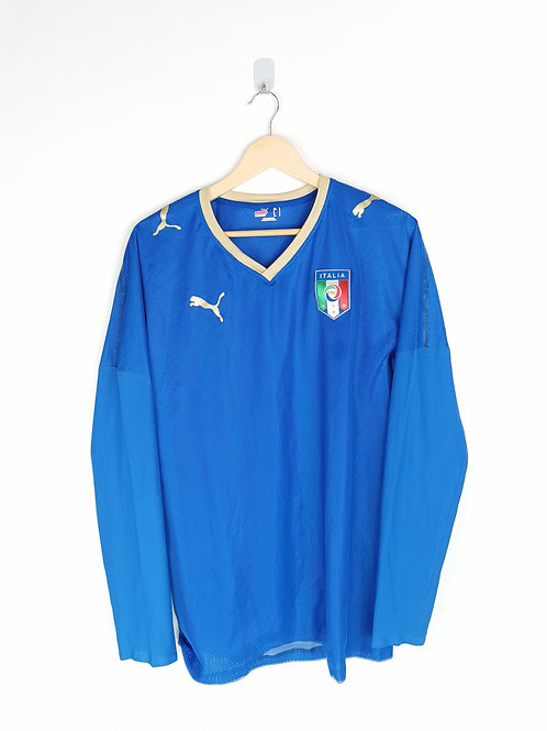 Italy 2007-08 L/S Home - Size L