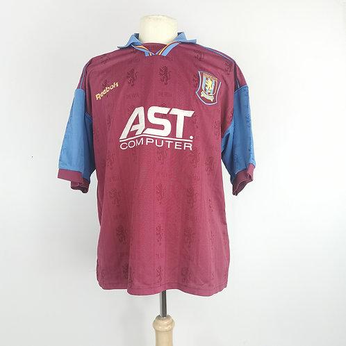 Aston Villa 1995-97 Home - Size XL