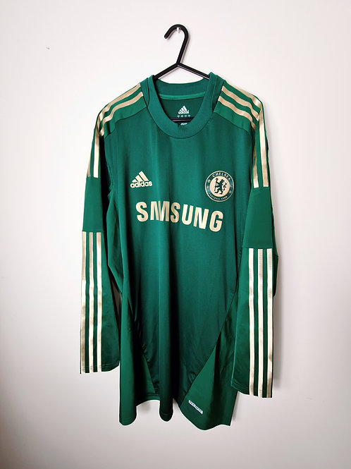 Chelsea 2012-13 Goalkeeper Shirt L/S - Size Women's 12