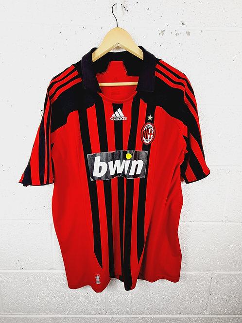 AC Milan 2007-08 Home - Size XL - Ronaldo 99