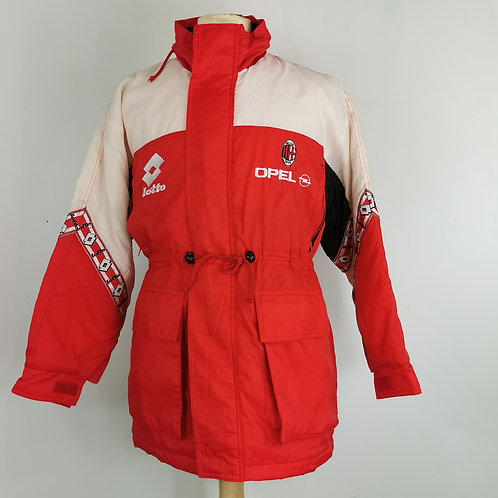 AC Milan 1997 Lotto Coaches Coat - Size M
