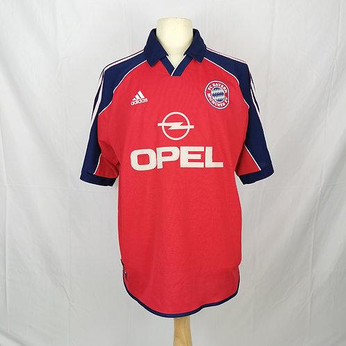 Bayern Munich 1999-01 Home  - Size XL - Scholl 7