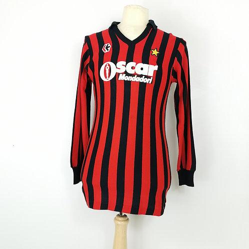 AC Milan 1984-85 L/S Match Worn Home - Size S/M - #10 - Alberigo Evani