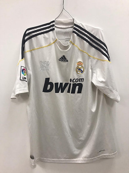Real Madrid 2009-10 Home Shirt - Size L