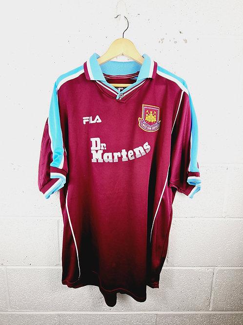 West Ham 2000-01 Home - Size XXL - Di Canio 10