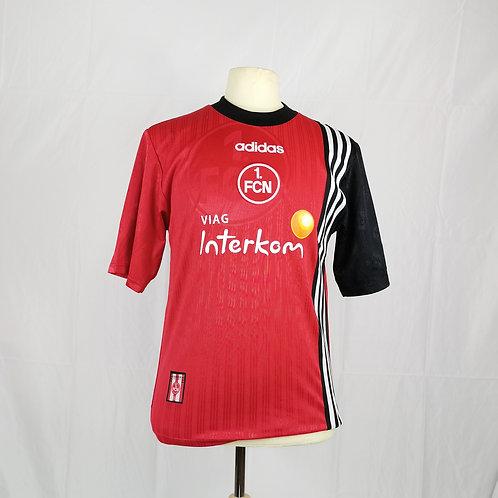 FC Nürnberg 1997-98 Home - Size S - Signed