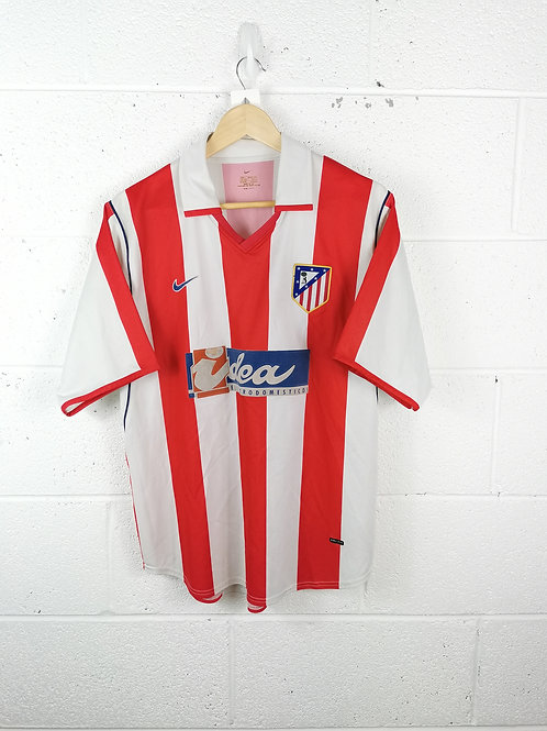 Atletico Madrid 2001-02 Home - Size XL