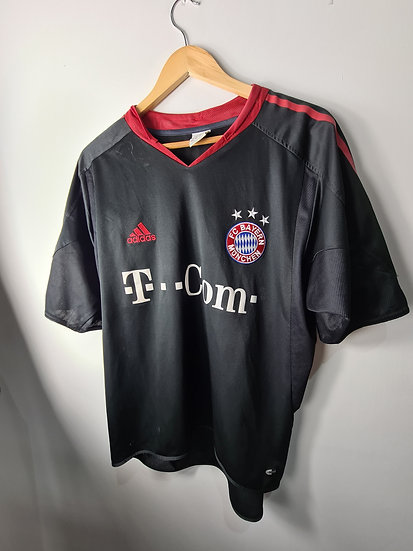 Bayern Munich 2004-05 Alternate Cup Shirt - Size L - Makaay 10