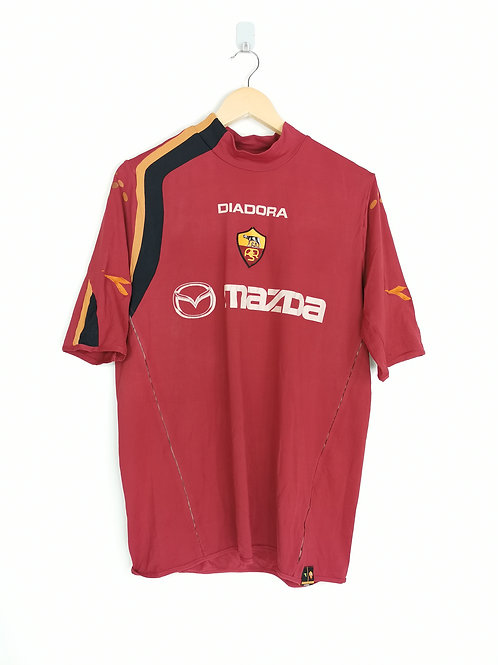 AS Roma 2004-05 Home - Size XL