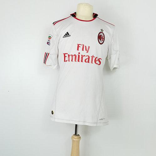 AC Milan 2010-11 Away - Size M - Cassano 99