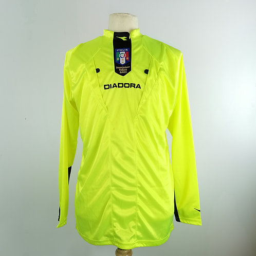 Italy FIGC 2009 L/S Referee Shirt - Size M