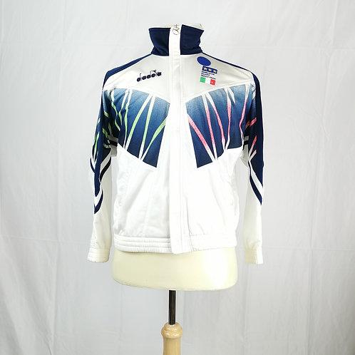 Italy 1994 Diadora Track Jacket - Size S