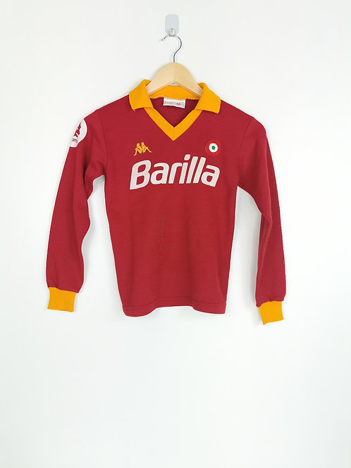 AS Roma 1984-85 L/S Home - Size MB