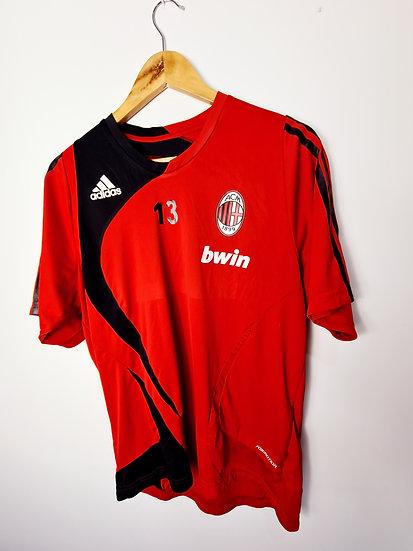 AC Milan Adidas Training Shirt - Size S