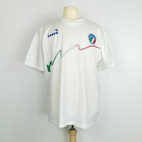 Italy 1986-90 Training Shirt – Size XL