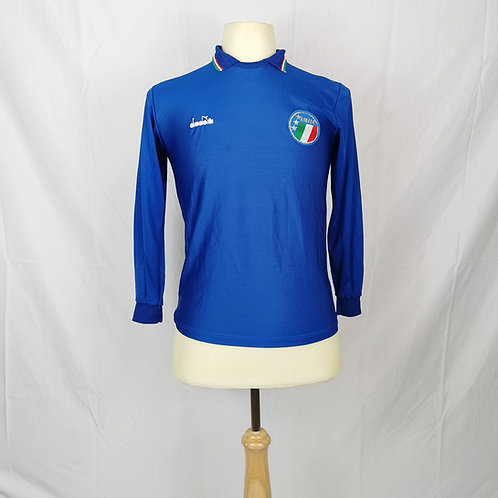 Italy 1986-90 L/S Home - Size XS