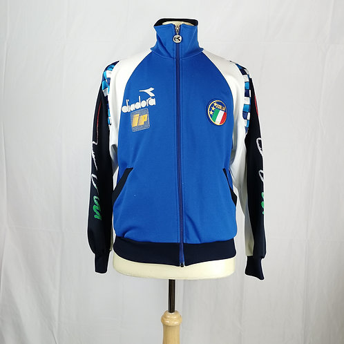 Italy Diadora Player Issue 1990 Jacket - Size M