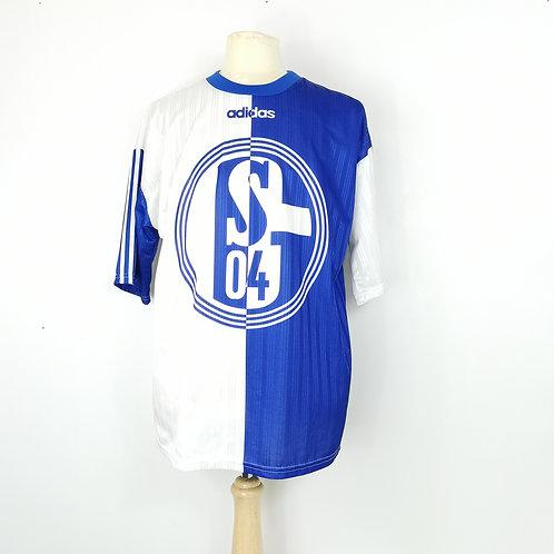 Schalke 04 1996-97 Adidas Leisure Shirt - Size L
