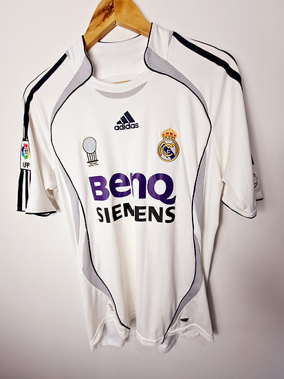 Real Madrid 2006-07 Home - Size S - Cannavaro 5