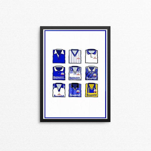 Glenavon Kits Print - A4