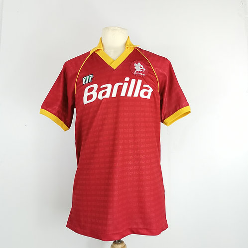 AS Roma 1990-91 Home - Size L