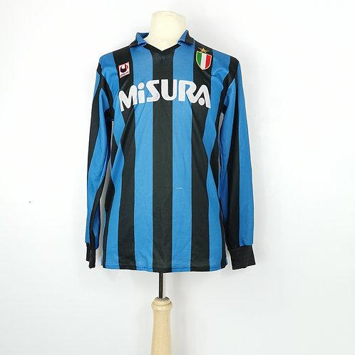 Inter Milan 1989-90 L/S Home - Size L - (Matthäus) 10