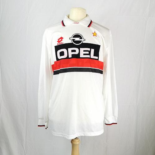 AC Milan Primavera 1993-94 L/S Away - Size XL