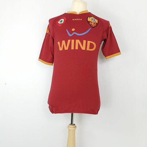AS Roma 2007-08 Home - Size L - Totti 10